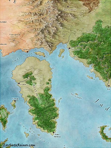 Los mapas de The Lands of Ice and Fire