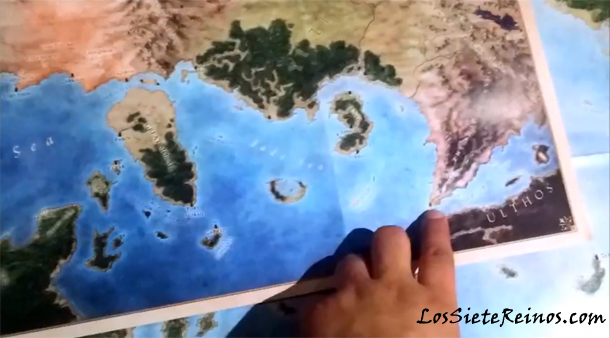 "Primer vídeo de los mapas de ""The Lands of Ice and Fire"" al completo"