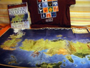 El mapa completo de The Lands of Ice and Fire