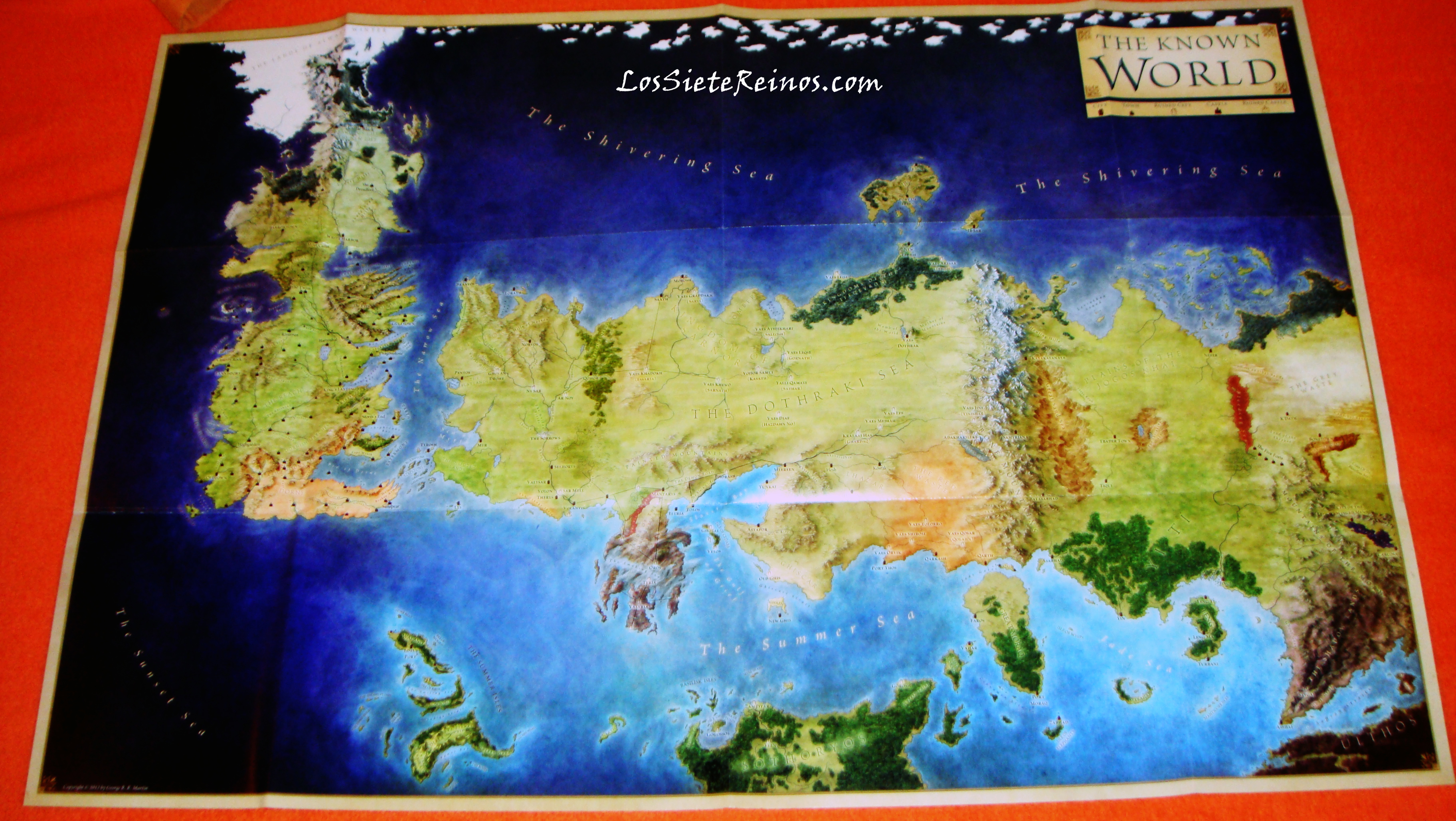A Song of Ice and Fire - World Size *SPOILERS* - Books and ...