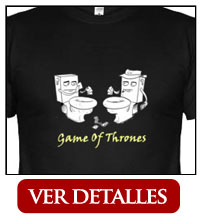Camiseta Game of Thrones humor