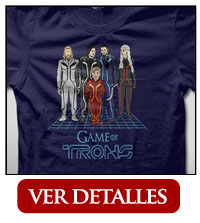 Camiseta Game of Trons