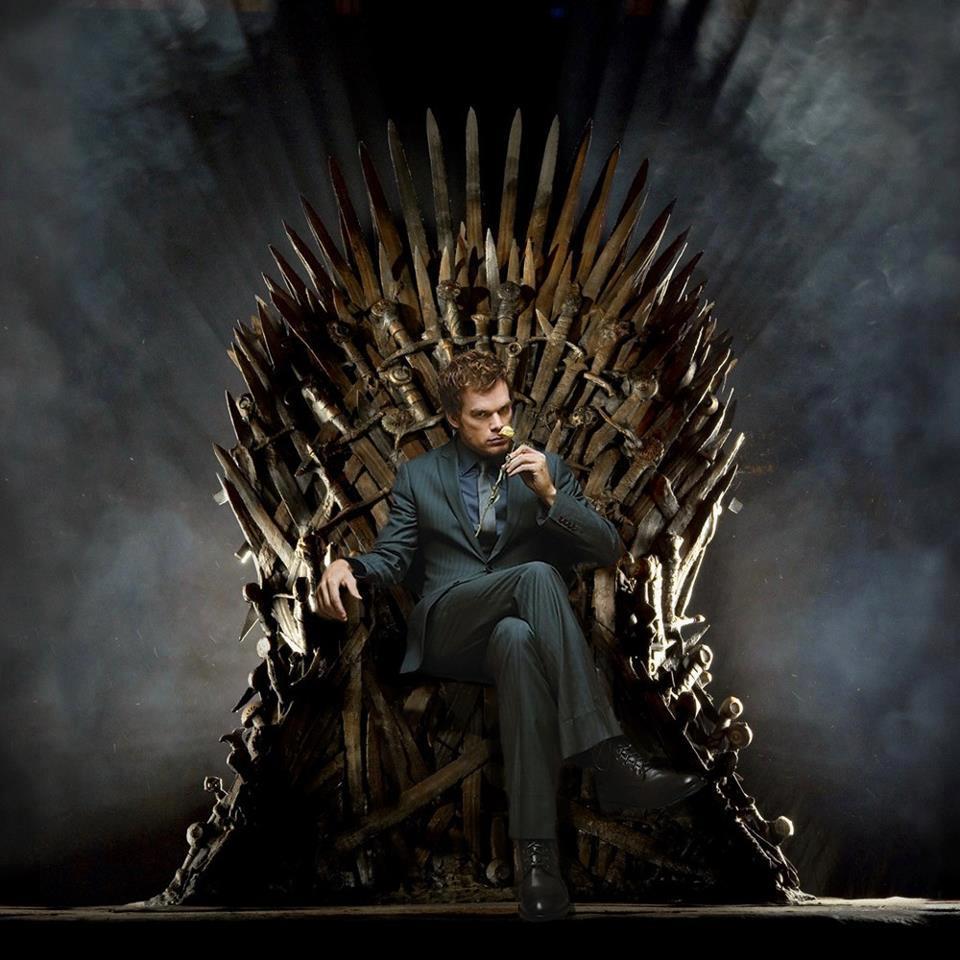 Dexter en el trono de hierro - Trono de hierro ...