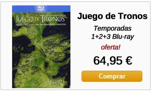 Juego de Tronos en Blu-ray Pack 1+2+3