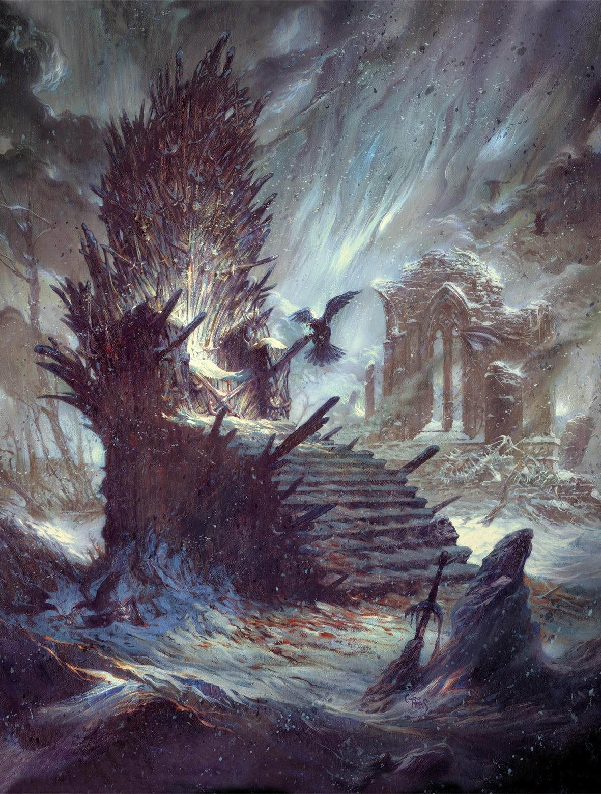 Desvelada la portada de El Mundo de Hielo y Fuego (The World of Ice and  Fire)